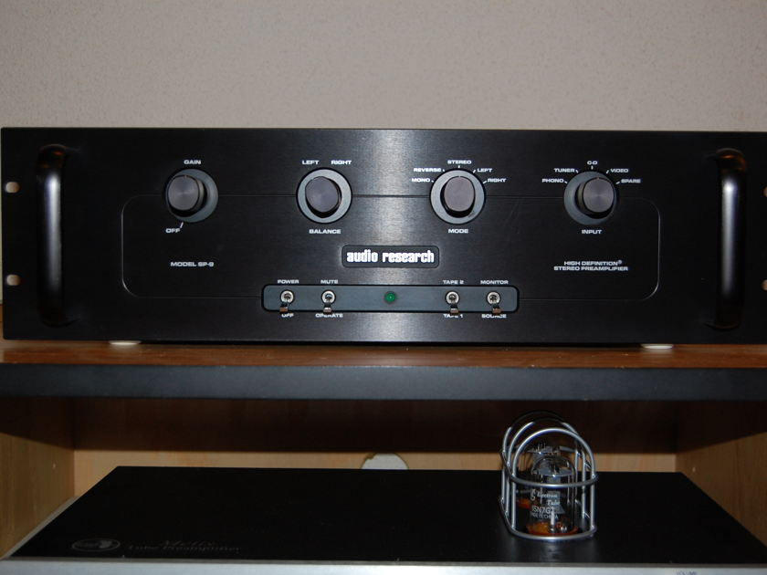Audio Research SP-9 Mk ll Hybrid Preamp with Phono mm/mc