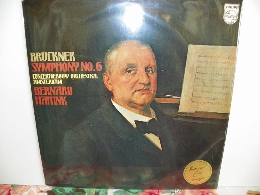 BERNARD HAITINK - BRUCKNER SYMPHONY NO.6 Rare LP