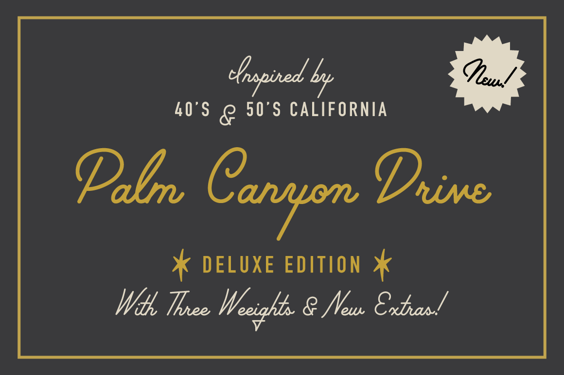 Palm Canyon Drive Deluxe