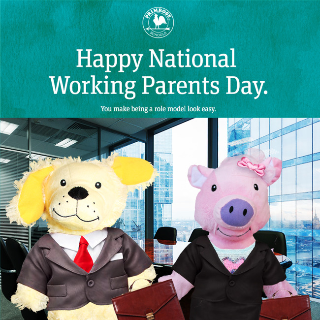 Happy National Working Parent's Day!