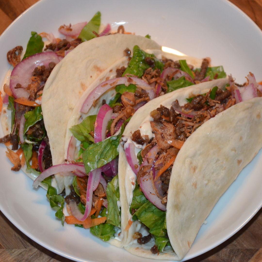 Date: 13 Jun 2020 (Sat) 144th Main: Asian Beef Tacos [387] [164.3%] [Score: 10.0] Cuisine: Asian Dish Type: Main