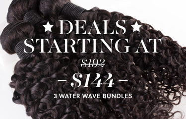 Shop Water Wave Hair 3 Bundle Deal