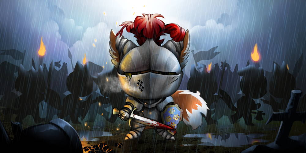knight final blockchain cuties