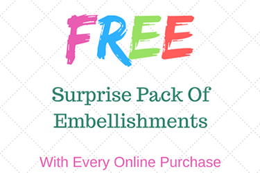 Get Surprise Pack of Embellishment Buttons