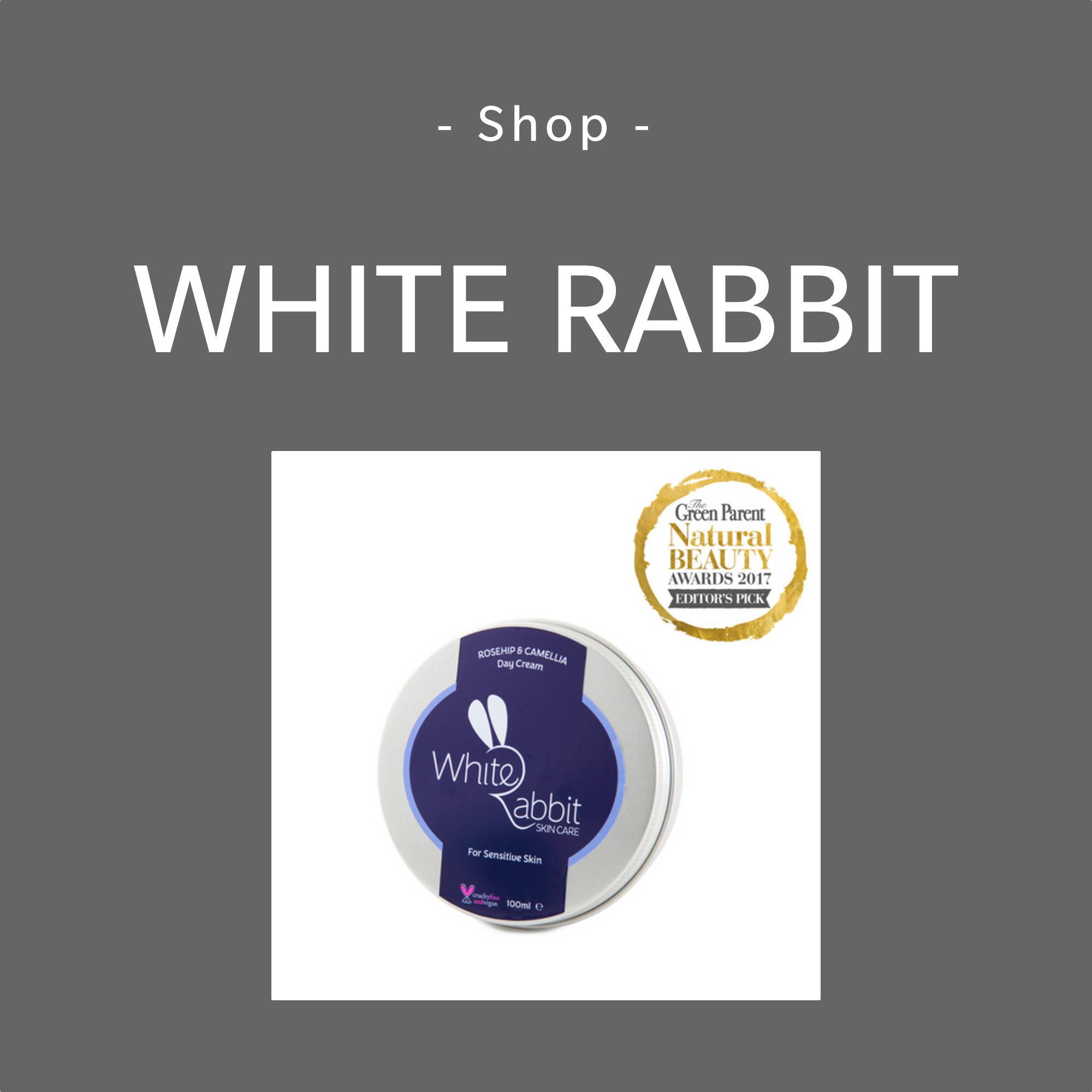 White Rabbit Skincare Brand Page