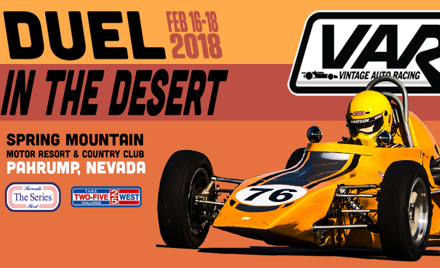 Duel in the Desert Spring Mountain 2018