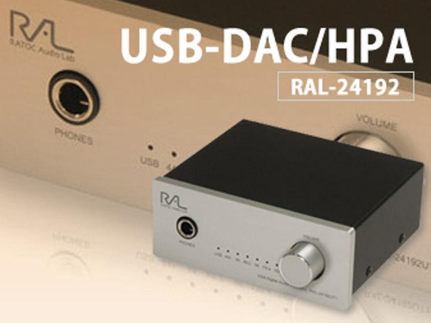RATOC RAL-24192UT1 New 24bit/192kHz USB DAC
