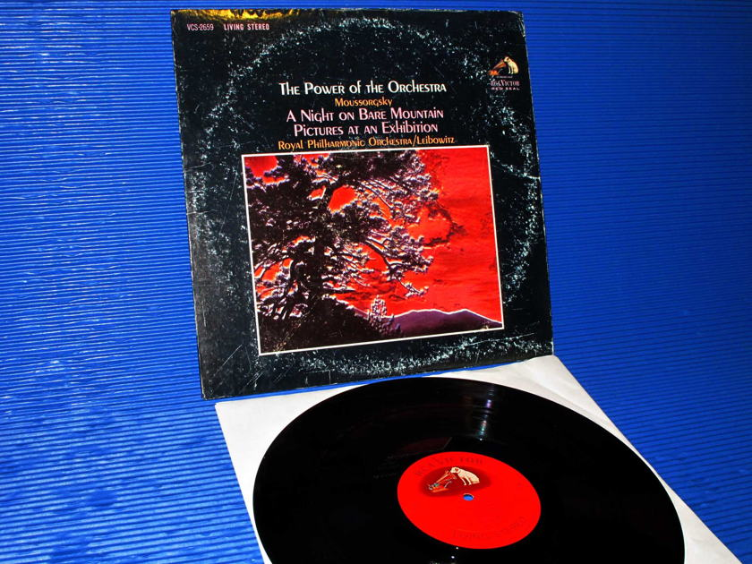 MOUSSORGSKY/Leibowitz -  - 'The Power Of The Orchestra' - RCA 'Shaded Dog' 1963 TAS List
