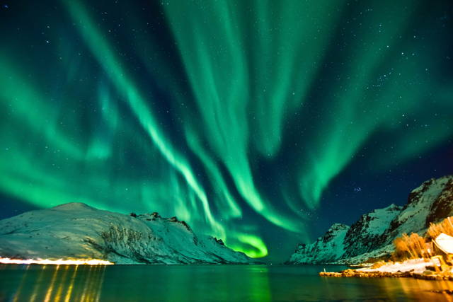 A Night in the Arctic Wilderness