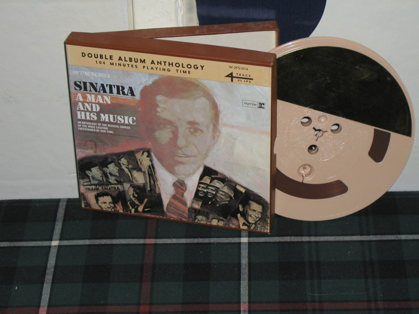 Frank Sinatra - Sinatra A Man And His Music Open Reel Tape (2 LP's on 1 reel)