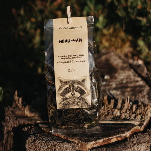 Иван-чай (кипрей узколистный) крупнолиствой (25 г)
