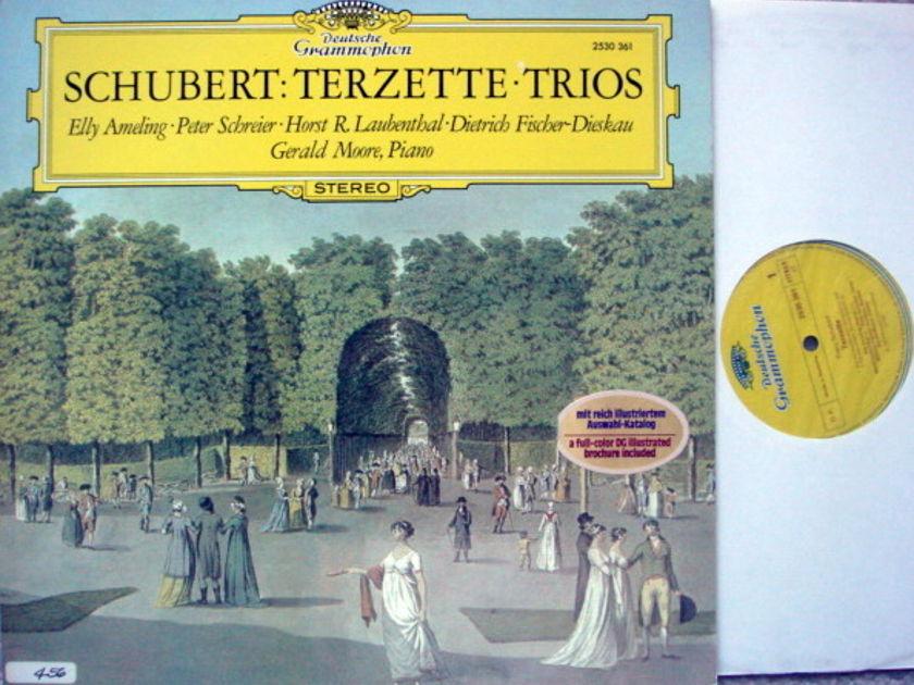 DG / AMELING-SCHREIER-FISCHER-DIESKAU, - Schubert Trios, MINT!