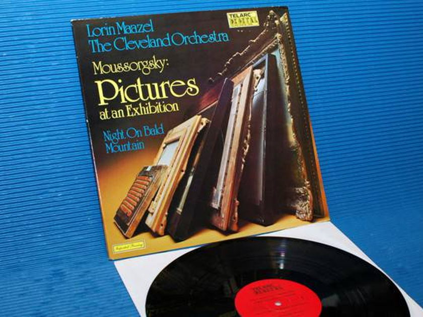 """MOUSSORGSKY/Maazel - - """"Pictures At An Exhibition"""" -  Telarc 1979 TAS List"""