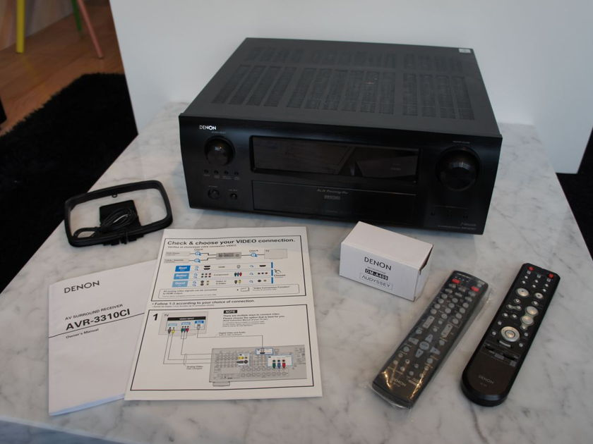 Denon AVR-3310CI Networked Receiver - No Reserve