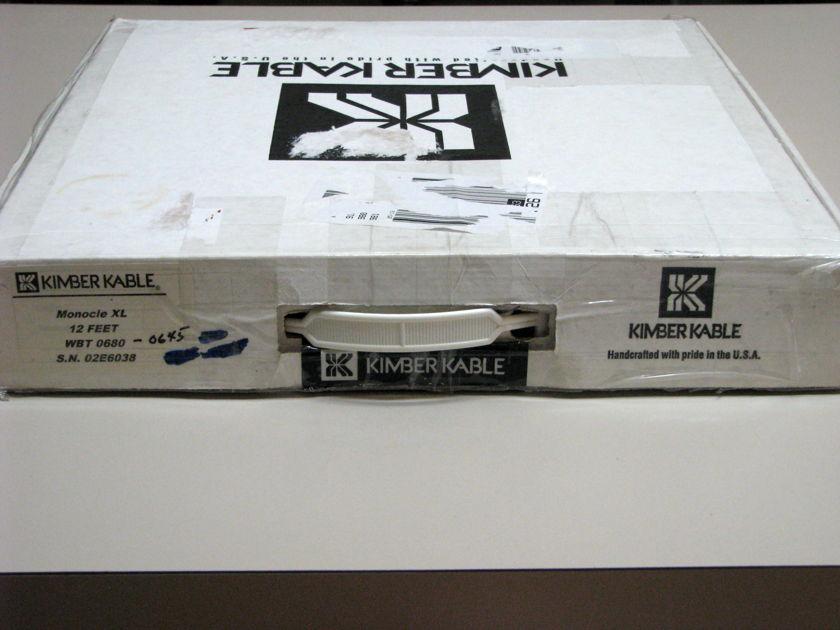 Kimber Kable Monocle XL 12ft pair WBT 0645ce