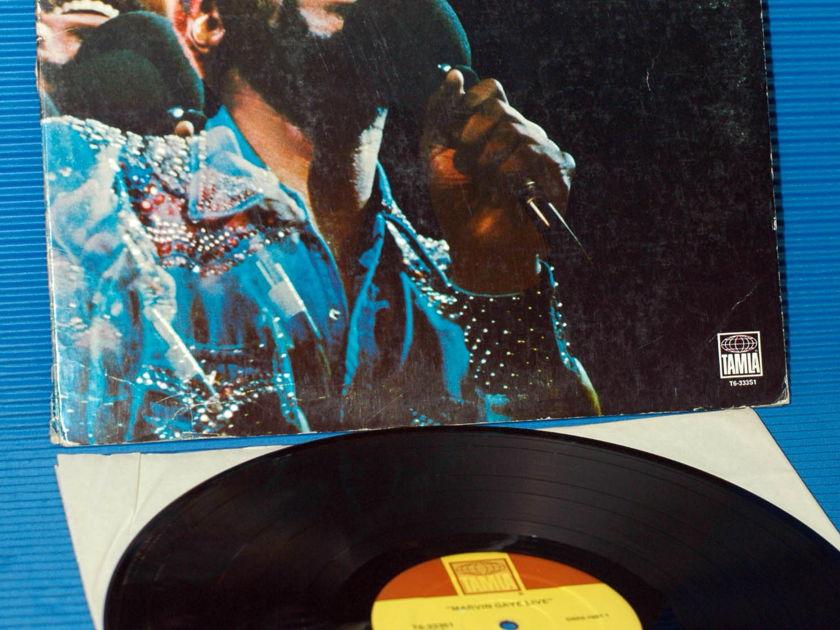 """MARVIN GAYE   - """"Live"""" -  Tamla 1974"""