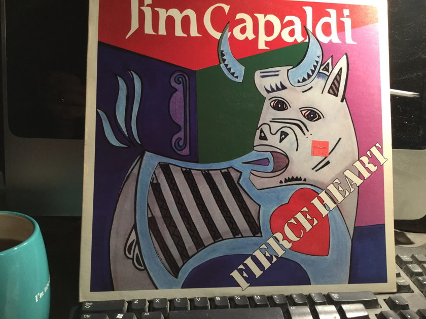 JIM CAPALDI - FIERCE HEART