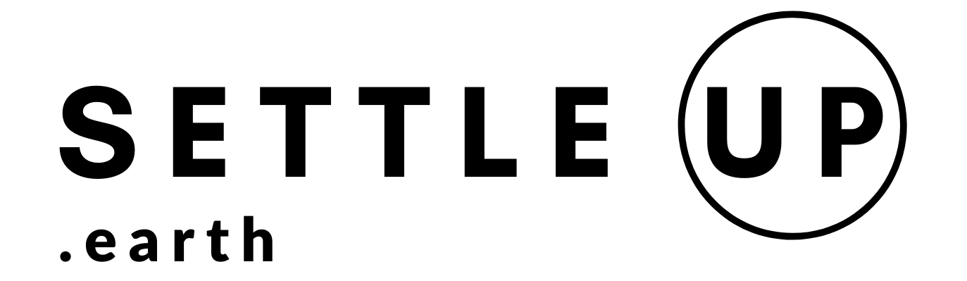 Settleup earth logo   bold, rectangle