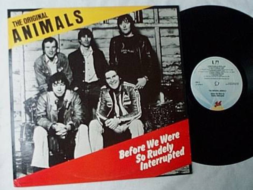 Animals Lp-Before - we were so rudely interrupted-orig 1977 album