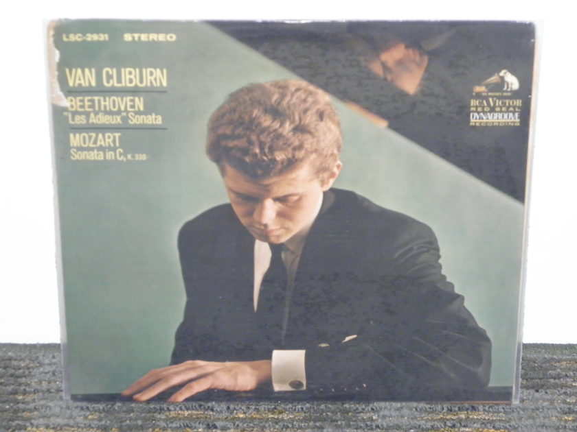 Van Cliburn - Beethoven/Mozart RCA White Dog LSC 2931 STILL SEALED/NEW