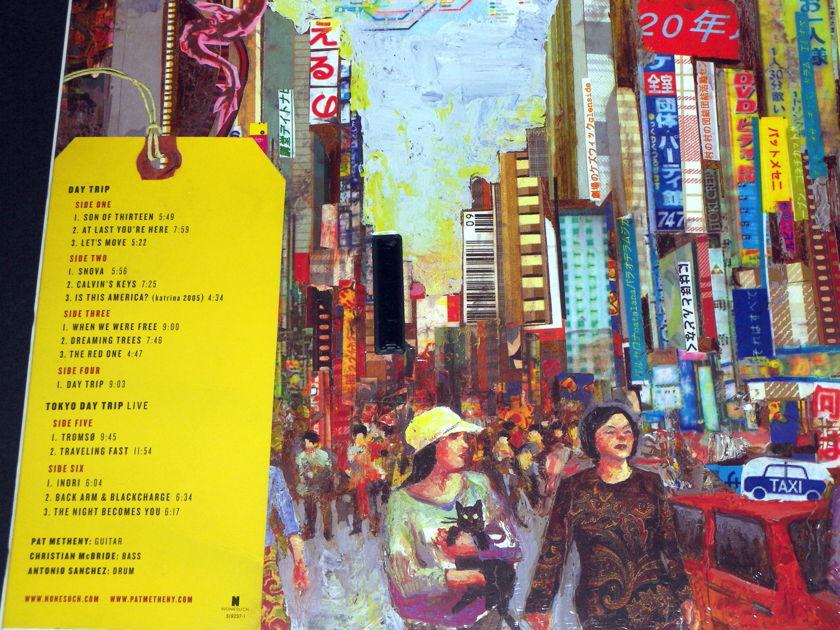 Pat Metheny w/Christian McBride & Antonio Sanchez - Day Trip / Tokyo Day Trip Live 3x180g vinyl + 2xcd's of the complete album [Sealed] OOP!