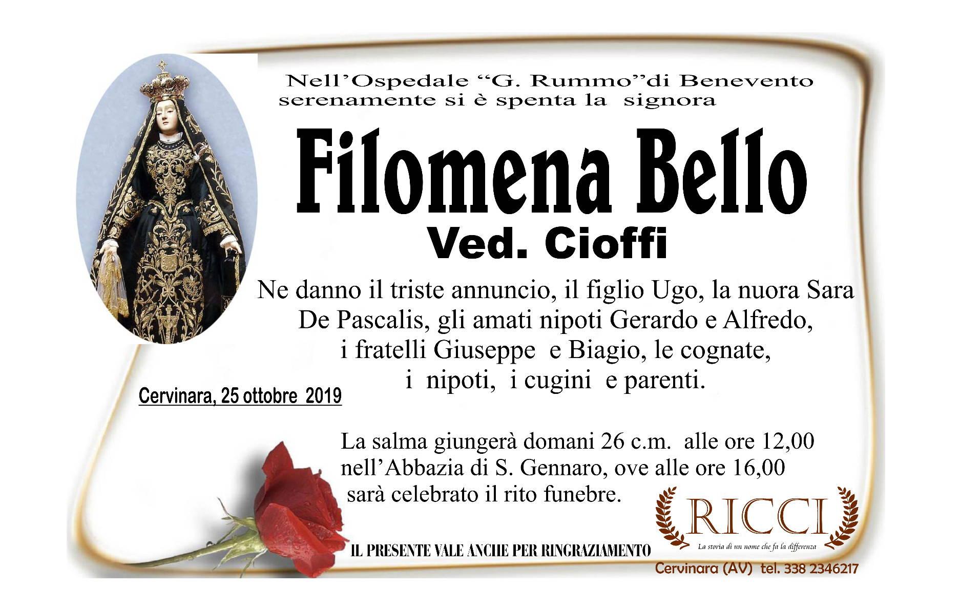 Filomena Bello