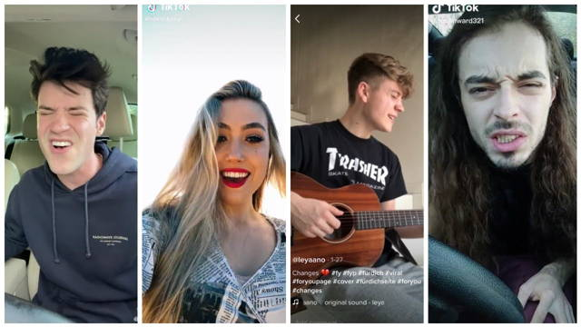 some Tiktok musicians and their contents