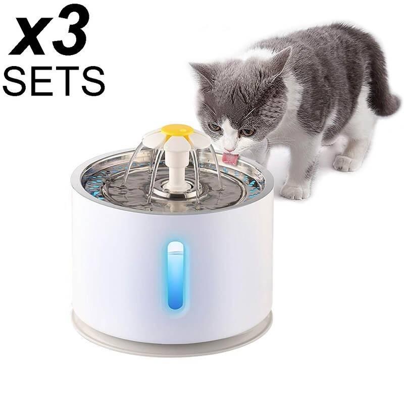 fontaine eau pour chat, distributeur eau chat, fontaine chat automatique