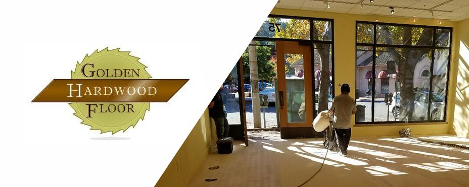 Golden Hardwood Floor - San Francisco
