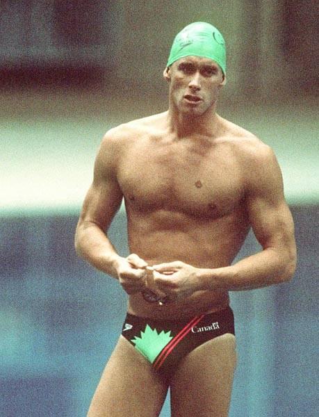 swimmer Victor Davis
