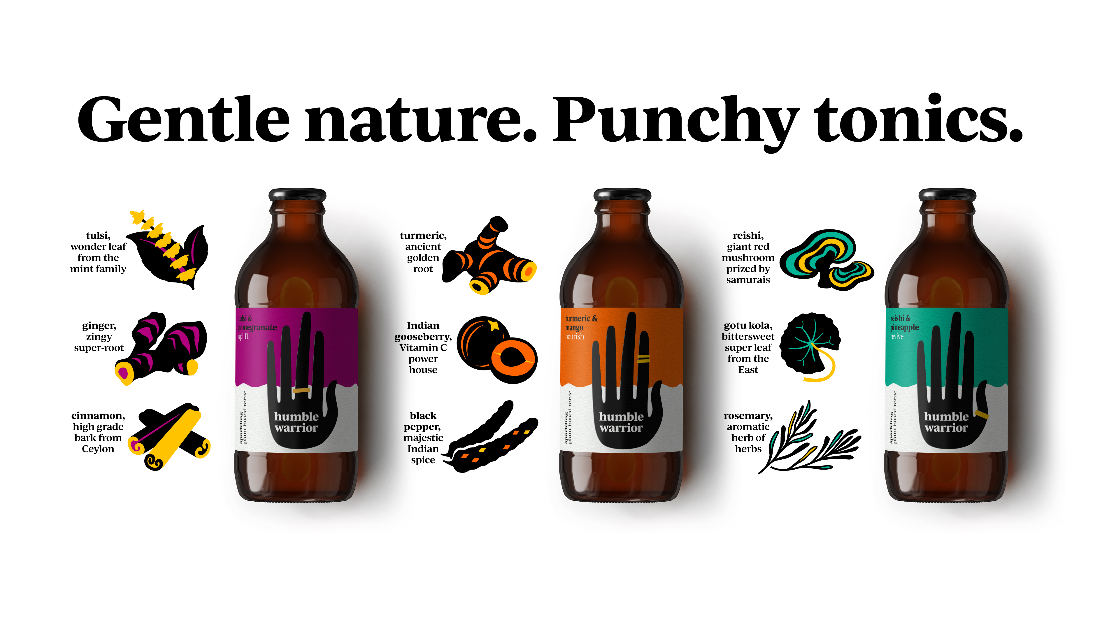 Humble Warrior's Redesign Was a Hands-On Approach | Dieline