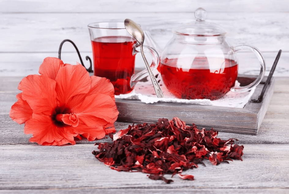 Thé a l hibiscus