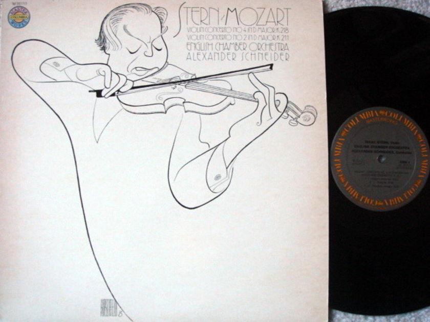 Columbia / STERN-SCHNEIDER, - Mozart Violin Concertos No.2 & 4, NM-!
