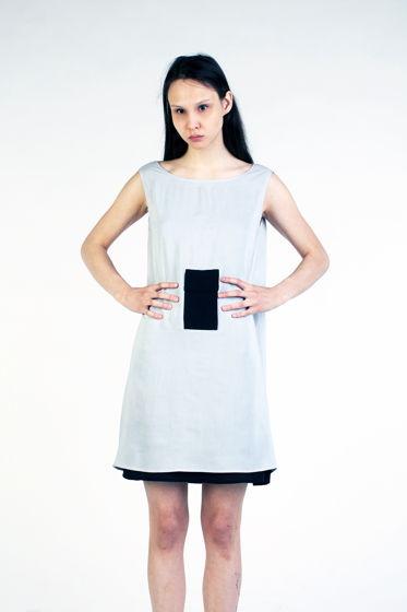 Двустороннее платье с открытой спиной