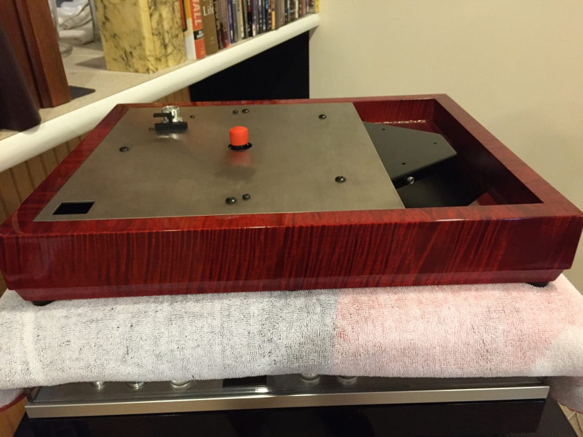 Linn LP12 w/ Custom Woodsong Plinth - perfect for upgrades...build out as desired