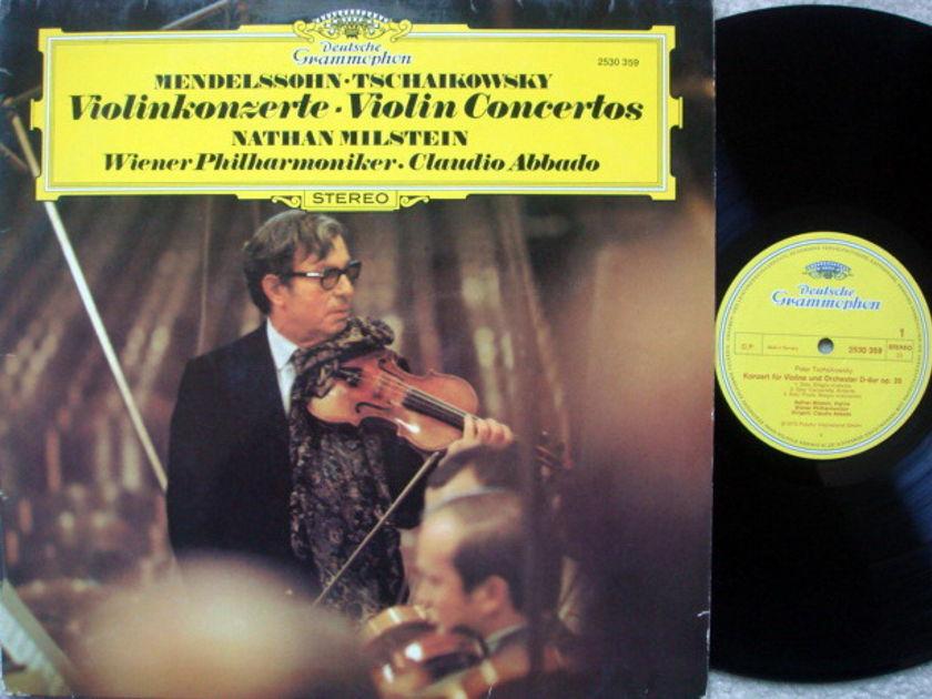 DG / Mendelssohn/Tchaikovsky - Violin Concertos, MILSTEIN/ABBADO/VPO, MINT!