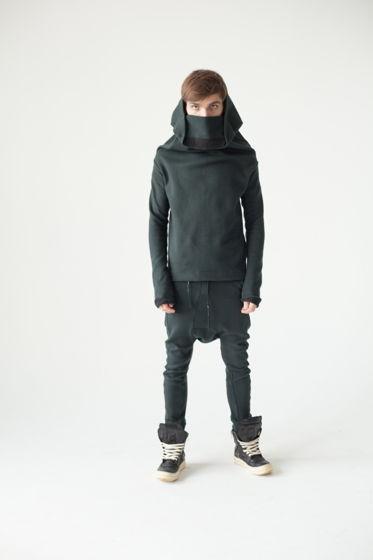 дизайнерская концептуальная кофта худи