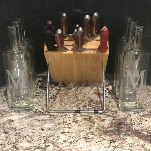 Custom Engraved Glass Bottles