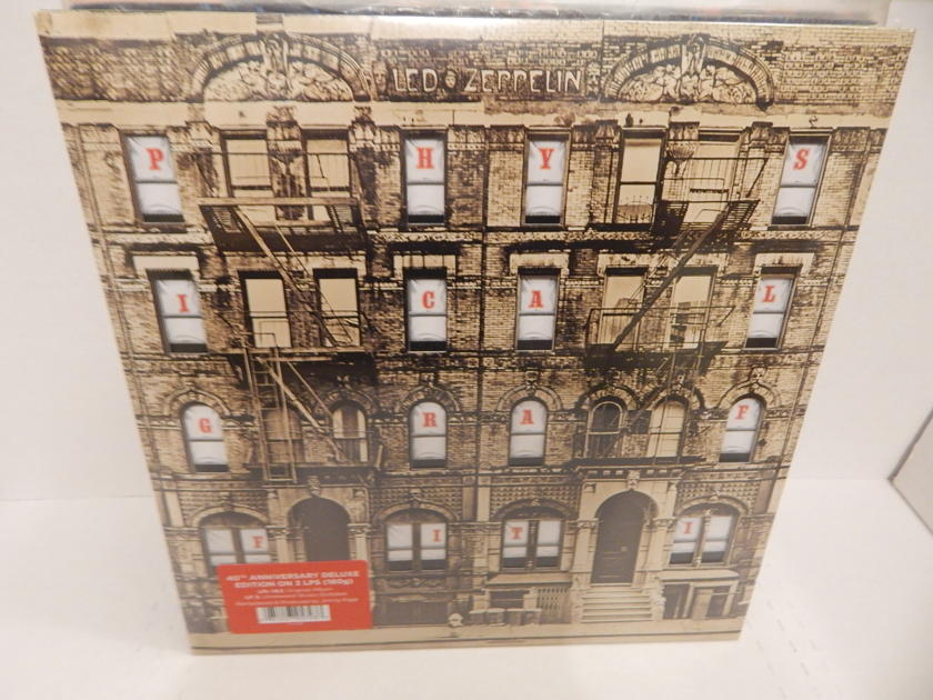 LED ZEPPELIN PHYSICAL GRAFFITI - 3 LP 180gr 40th Anniversary Deluxe Brand New 2015 Swan Song FACTORY SEALED
