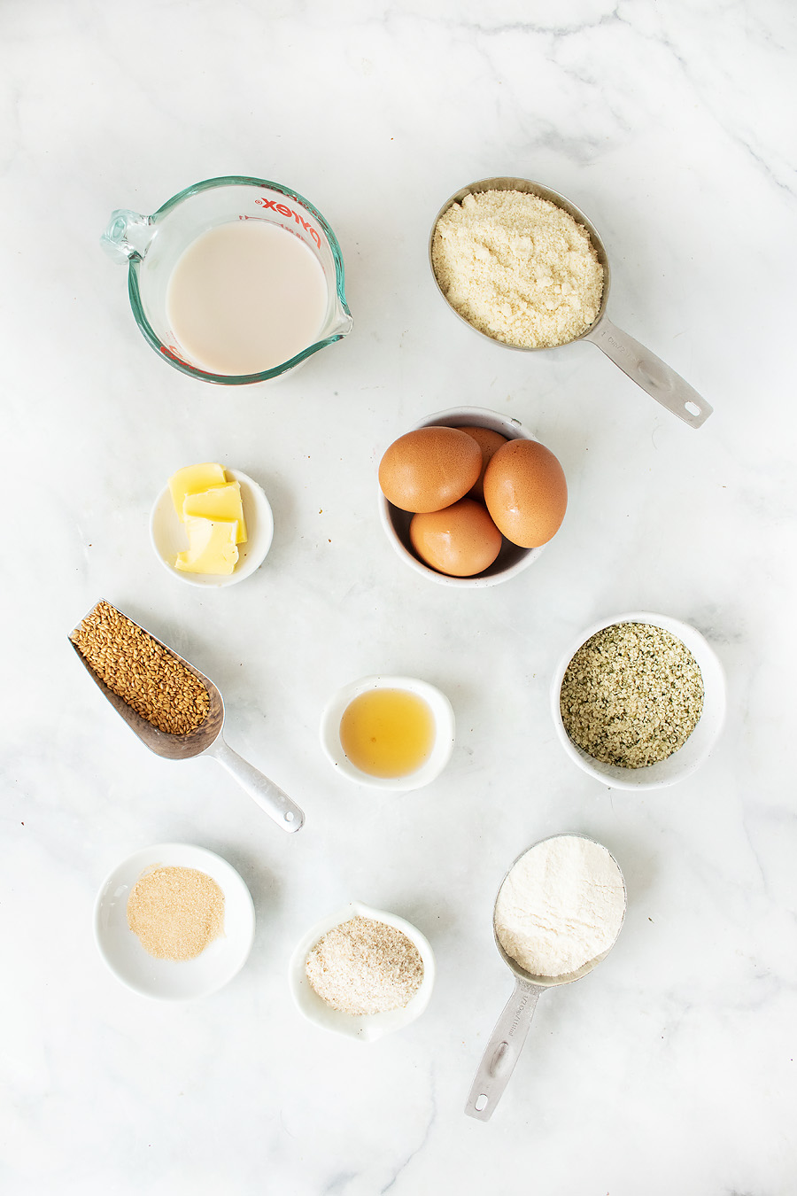 Keto Bread Ingredients