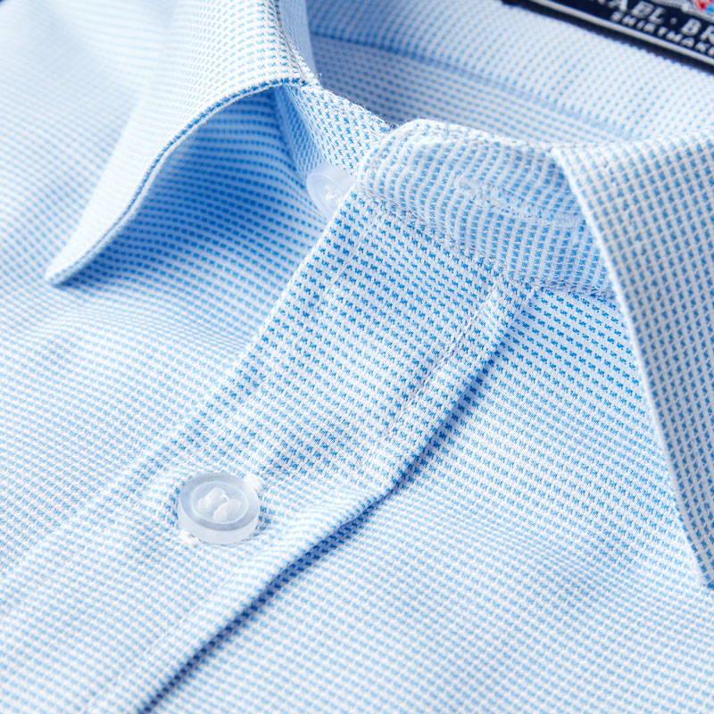 Blue shirt close up