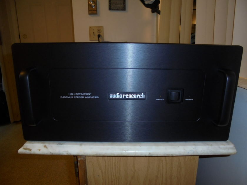 Audio Research Corporation D400 mark II Awesome, and powerful SS amplifier