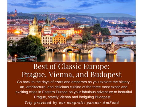 The Best of Classic Europe- Prague, Vienna and Budapest