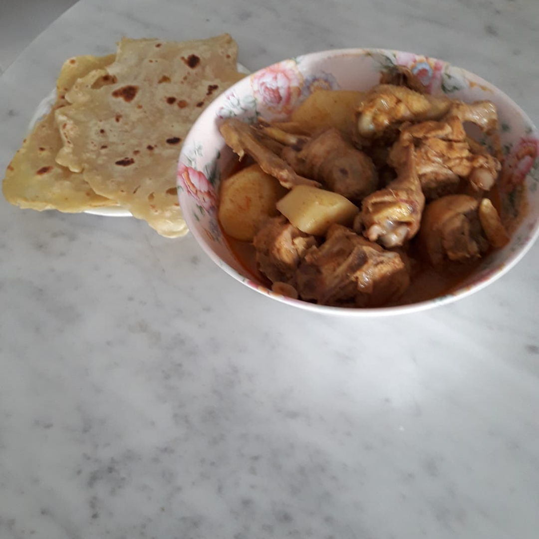 Roti Canal & Curry Chicken 19 April 2020