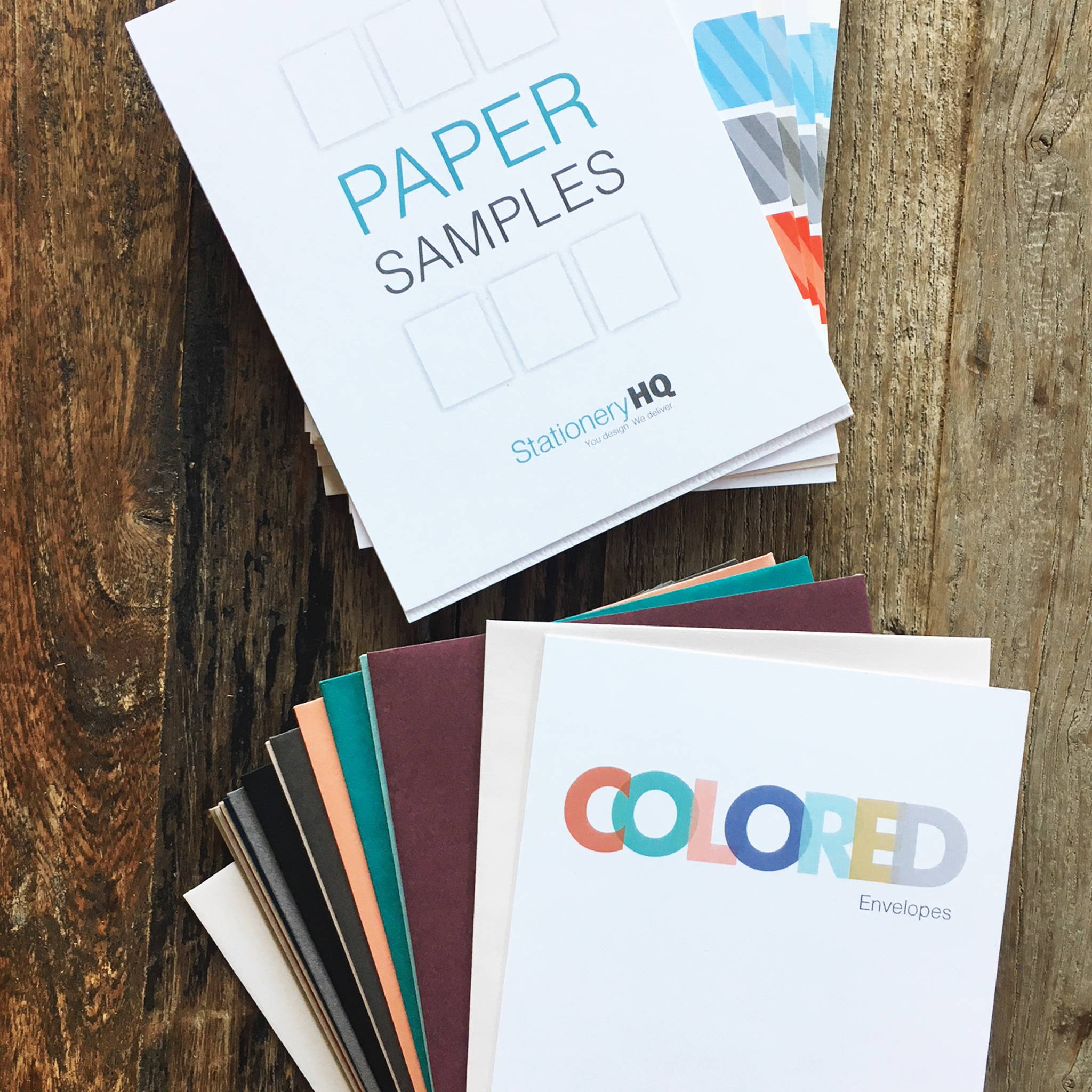 Paper & Envelope Sample Packs