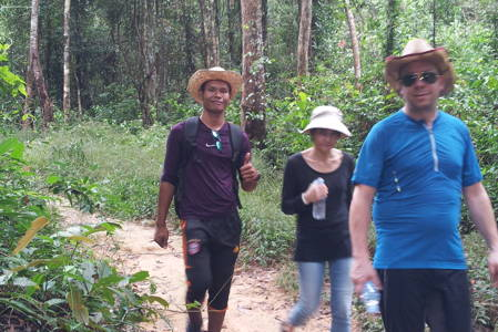 Cambodia National Park Hiking Tour