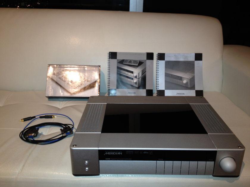 Meridian G61R Processor Silver w/ Room Correction
