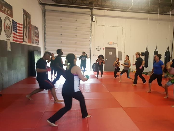 2400 sf martial arts warehouse