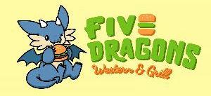 Logo - Five Dragons Western & Grill