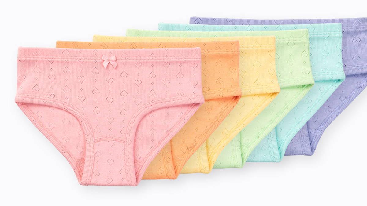 Erica Girls Organic Cotton Bikini Underwear